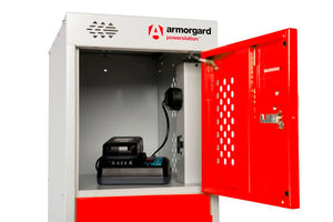 Red Charging Locker