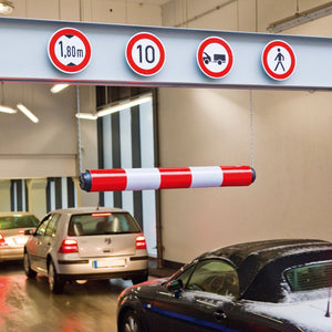 car park height restriction barrier