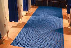 Blue Wet Room Matting