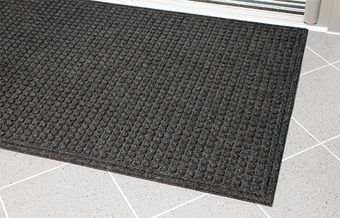 RenewMat Large Black Door Mat