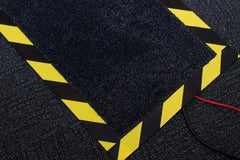 Cable protector floor mat