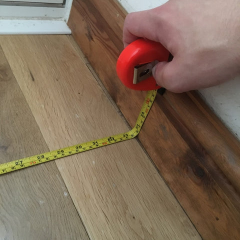Step 1: Measure the area where your matting will go