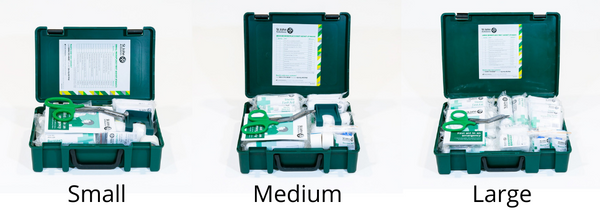 First Aid Kit Sizes