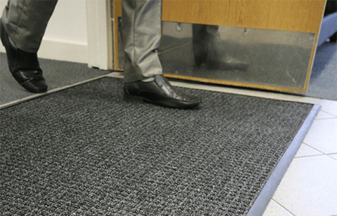 PremDry Heavy Duty Black Door Mat