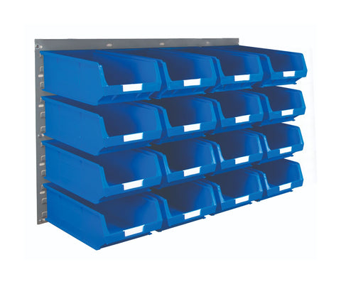 Louvre Panel and Parts Bin Kit with 16 TC4 Bins