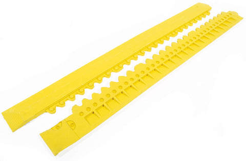 Yellow male edge for Anti-Fatigue Mats