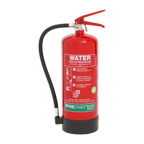 6 Ltr EcoSpray Water Fire Extinguisher (ESW6)