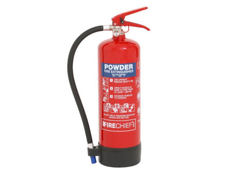 4 Kg Powder Fire Extinguisher (FXP4)