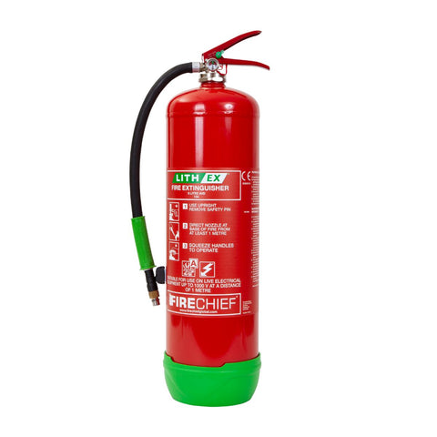 9 Ltr Lithium Battery Fire Extinguisher FLE9