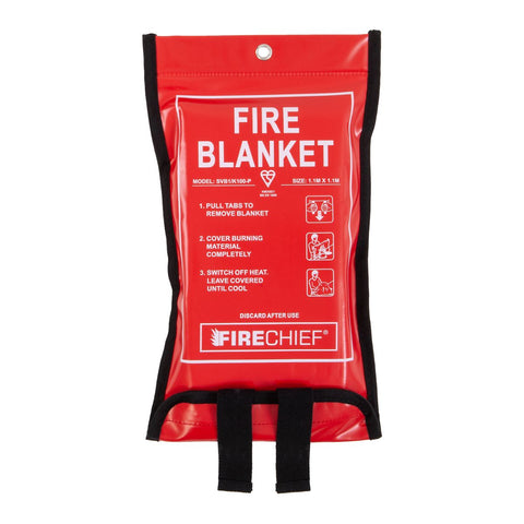 K100 Soft Case Fire Blanket - 1.1m x 1.1m
