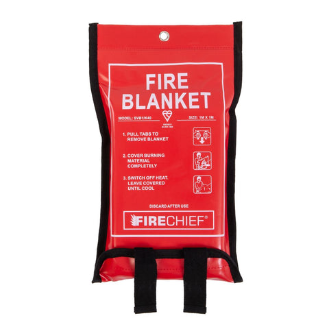 K40 Soft Case Fire Blanket - 1m x 1m