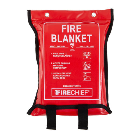 K40 Soft Case Fire Blanket - 1.2m x 1.8m
