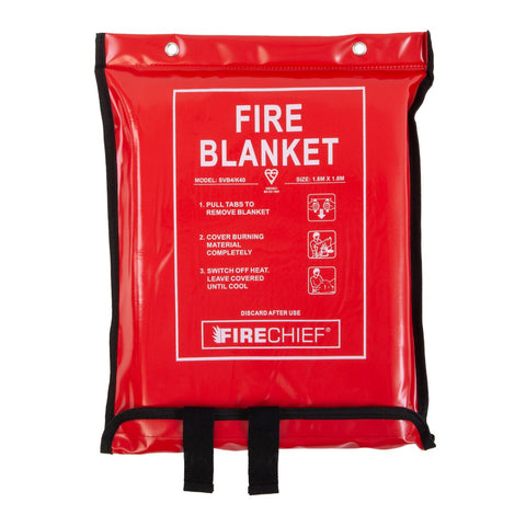 K40 Soft Case Fire Blanket - 1.8m x 1.8m