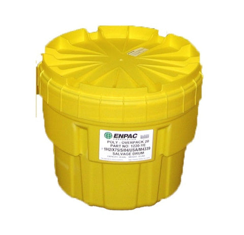 76L Overpack Drum for Bottles, Cans and 22L Buckets