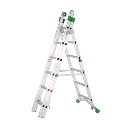 heavy-duty combination ladder