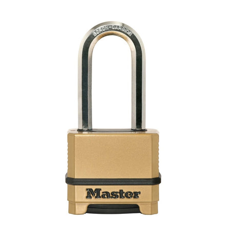 weatherproof long handle padlock