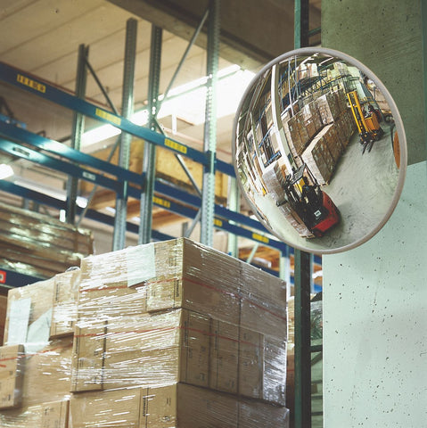 indoor shop and warehouse observation convex mirror