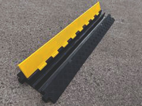 2 Channel Outdoor Cable and Hose Protection Ramp