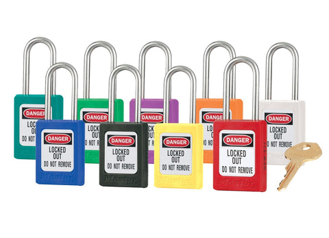 Key-Retaining Zenex Safety Lockout Padlocks