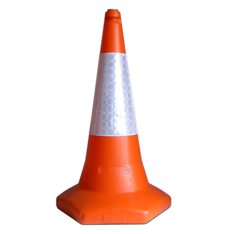 UK Regulation Traffic Cone - Ballast Filled