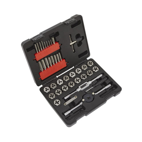 Metric Tap & Hex Die Set - 39pcs