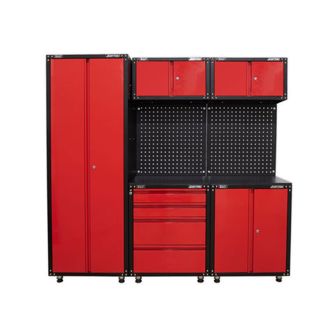 American Pro Modular Garage Storage Systems Large System