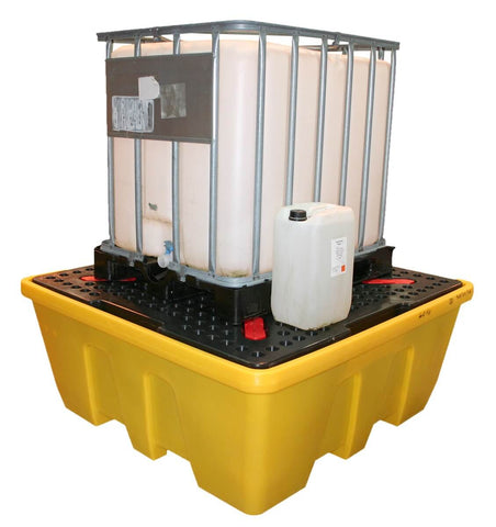 Single IBC Bund with Removable Deck - 1260L