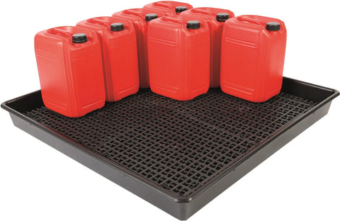 Oil Spill Tray for 16 x 25L Drums