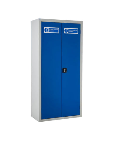 Workplace PPE Storage Cabinets closed door