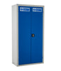 Workplace PPE Clothing Cabinets closed door