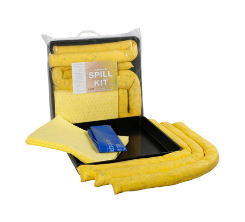 Chemical Spill Kits with Drip Trays 30 Litres