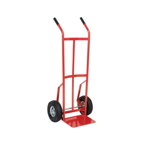 Basic Sack Truck with Pneumatic Wheels - 200kg Capacity