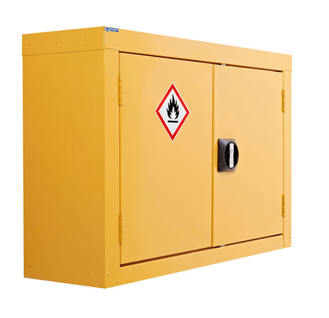 Wall mounted COSHH cabinet