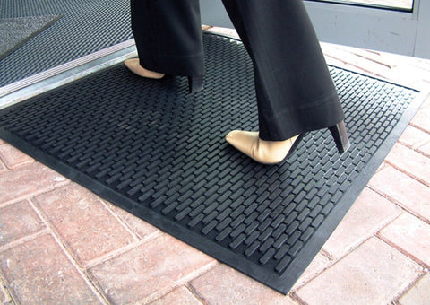 Rubberscrape Outdoor Rubber Door Mat First Mats Uk
