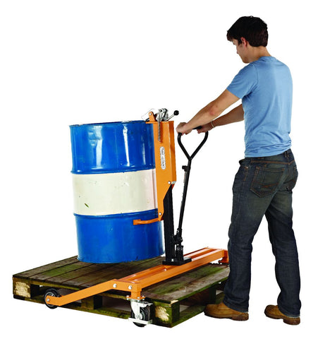 Euro Pallet Drum Lifter - 250kg in use
