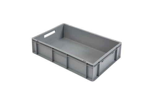 30 Litre Plastic Euro Containers (600mm x 400mm x 170mm)