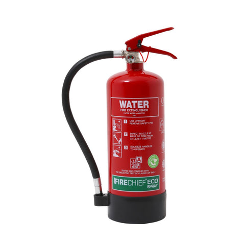 3 Ltr EcoSpray Water Fire Extinguisher (ESW3)