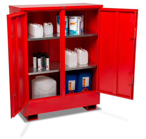 Flamstor Flammable Liquid Storage Cabinet FSC3 open