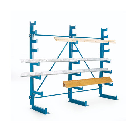 Cantilever Racking with Tapered Arms - Single Sided