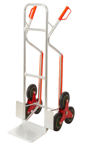 Aluminium Stair Climber Sack Truck with Skids