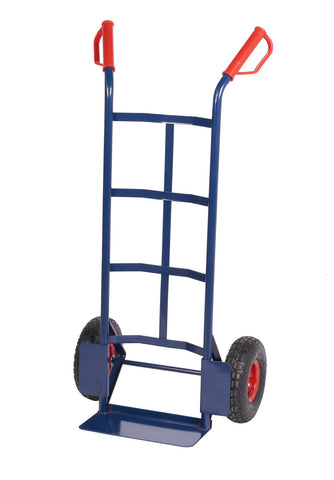 Steel Sack Truck with Pneumatic Wheels - 250kg