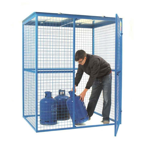 Lock Up Site Security Cage