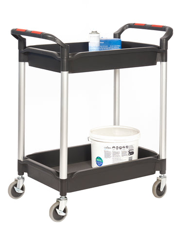 Deep Tray Shelf Trolleys - 2 Trays