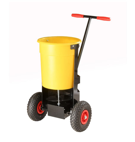 Hand Push Adjustable Salt Spreader