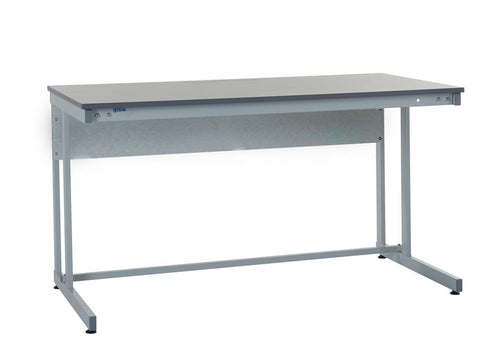 Cantilever Workbench with Laminate Worktop