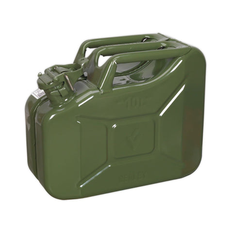 10L Petrol Jerry Can - Green