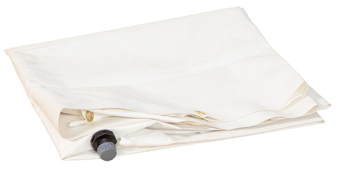 White Funnel Tarp for Leak Diverters