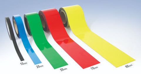 Magnetic Write-On Colours Racking Strip