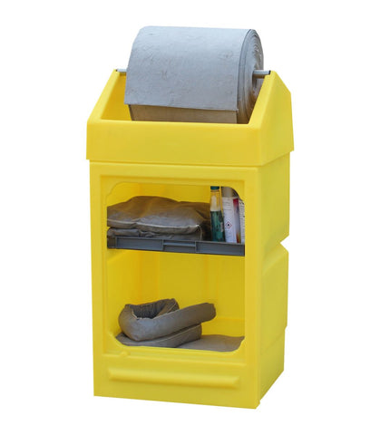 Plastic Moulded Spill Station Open Front