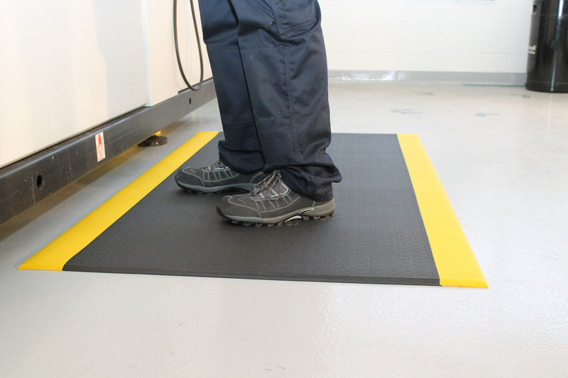 TextureMat Safety Anti-Fatigue Mat with Safety Border